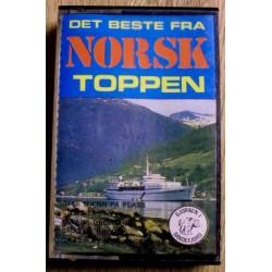 Det beste fra Norsktoppen (kassett)