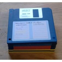 10 x disketter - Tilfeldig utvalg - Pakke 8 (Amiga)