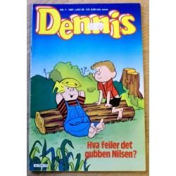 Dennis: 1987 - Nr. 7 - Hva feiler det gubben Nilsen?