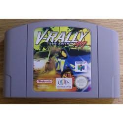Nintendo 64: V-Rally 99 Edition (Infogrames)