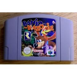 Nintendo 64: Banjo-Kazooie (Rare Software)