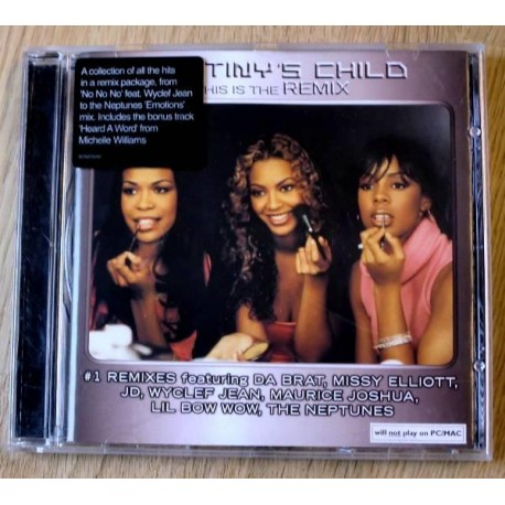 Destiny's Child: This Is The Remix (CD)