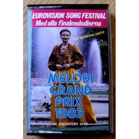 Melodi Grand Prix 1983 (kassett)