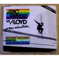 Eric Prydz vs Floyd: Proper Education (CD)