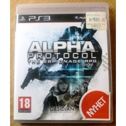 Playstation 3: Alpha Protocol: The Espionage RPG (Obsidian)