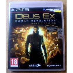 Playstation 3: Deux Ex: Human Revolution - Nordic Edition (Square Enix)