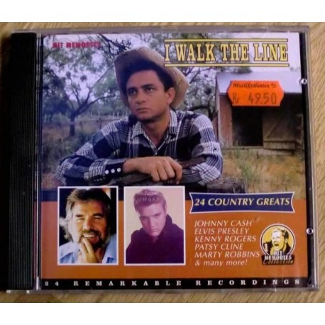 I Walk The Line: 24 Country Greats (CD)