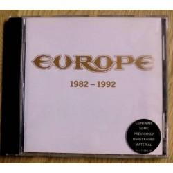 Europe: 1982 - 1992 (CD)