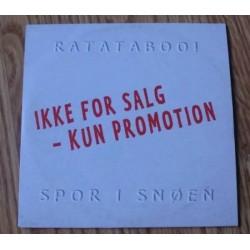 RATATABOO! - Spor i snøen - Ikke for salg - Promotion (CD)