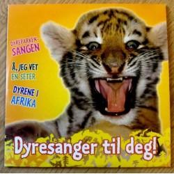 Dyresanger til deg! - Promo - Dyreparken-sangen (CD)