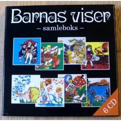 Barnas viser: Samleboks med 6 CD-er (CD)