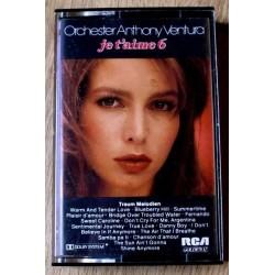 Orchester Anthony Ventura: Je T'aime 6 (kassett)