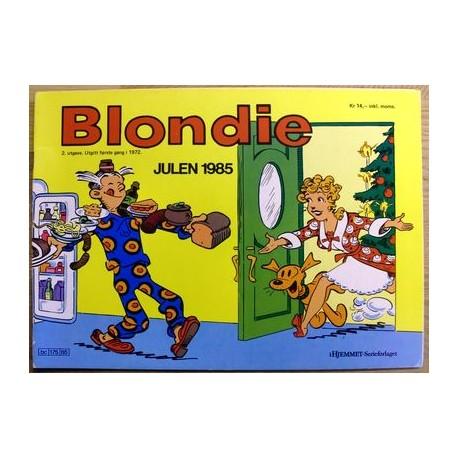 Blondie: Julen 1985