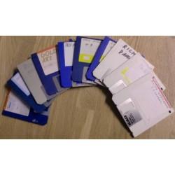 10 x disketter - Tilfeldig utvalg - Pakke 5 (Amiga)