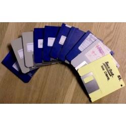 10 x disketter - Tilfeldig utvalg - Pakke 6 (Amiga)