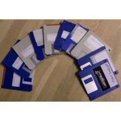 10 x disketter - Tilfeldig utvalg - Pakke 4 (Amiga)