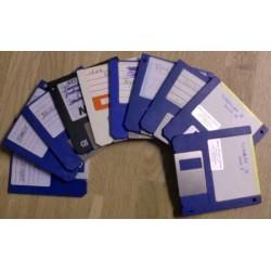10 x disketter - Tilfeldig utvalg - Pakke 2 (Amiga)