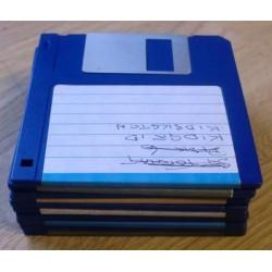 10 x disketter - Tilfeldig utvalg - Pakke 5 (Atari ST)