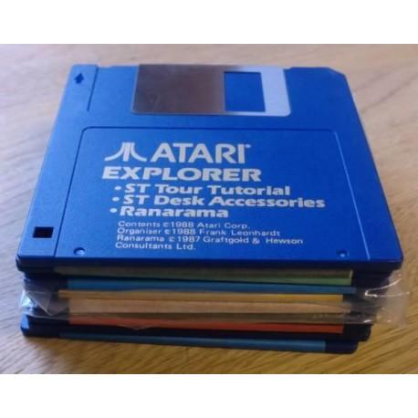 10 x disketter - Tilfeldig utvalg - Pakke 4 (Atari ST)