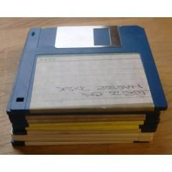 10 x disketter - Tilfeldig utvalg - Pakke 3 (Atari ST)