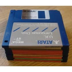 10 x disketter - Tilfeldig utvalg - Pakke 2 (Atari ST)