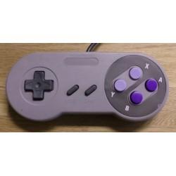 Super Nintendo SNES: Håndkontroll