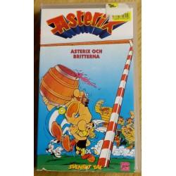 Asterix och Britterna (VHS)
