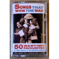 Songs That Won The War - 50 Wartime Favorites (kassett)