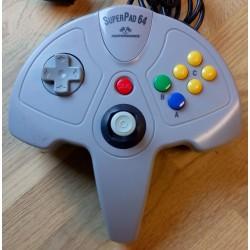 Nintendo 64: SuperPad 64 håndkontroll