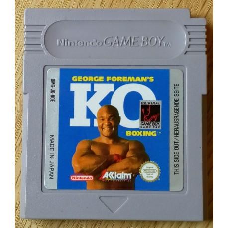 Game Boy: Goergoe Foreman's KO Boxing (Acclaim)