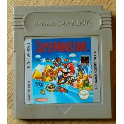 Game Boy: Super Mario Land (Nintendo)