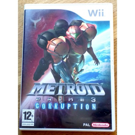 Nintendo Wii: Metroid Prime 3 Corruption