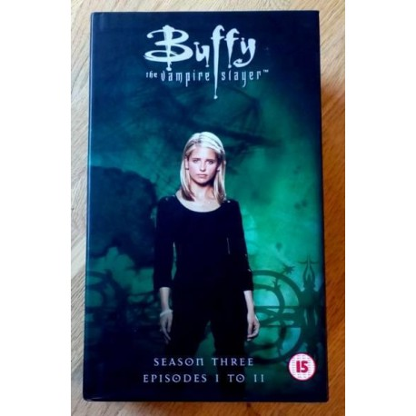 Buffy The Vampire Slayer: Sesong 3 - Episode 1-11 (VHS)