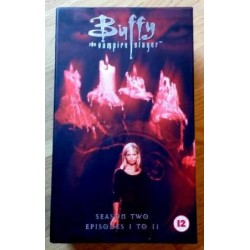 Buffy The Vampire Slayer: Sesong 2 - Episode 1-11 (VHS)