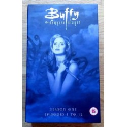 Buffy The Vampire Slayer - Sesong 1 - Episode 1-12 (VHS)