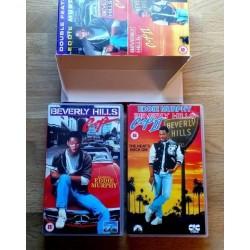 Beverly Hills Cop I og II - Flott samleboks! (VHS)