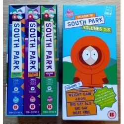 South Park: Volumes 1-3 (VHS)