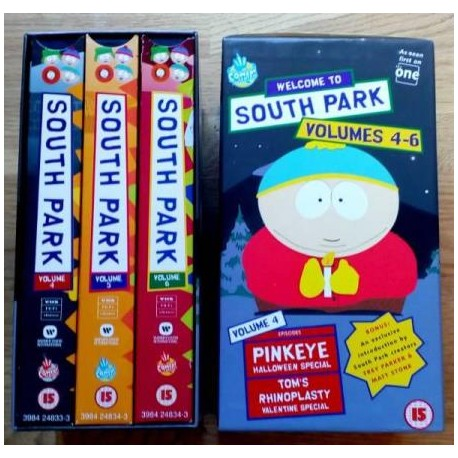 South Park: Volumes 4-6 (VHS)