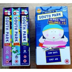 South Park: Sesong 2 - Volumes 7-9 (VHS)