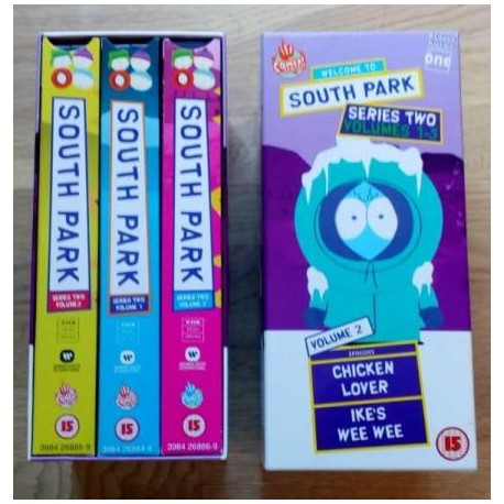South Park: Sesong 2 - Volumes 1-3 (VHS)