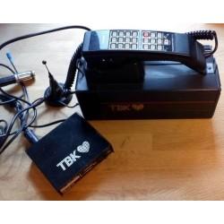 TBK Mobitel 900 - Gammel telefon som kunne brukes i bilen