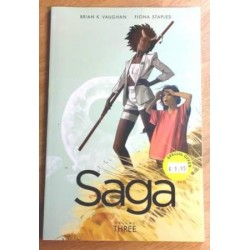 Saga: Volume Three - Brian K. Vaughan (Image Comics)