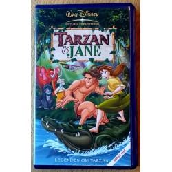 Walt Disney Klassikere: Tarzan & Jane (VHS)