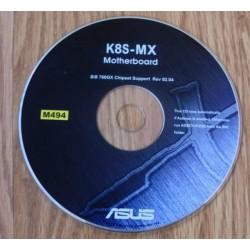 ASUS K8S-MX Hovedkort: SiS 760GX Chipset (CD)
