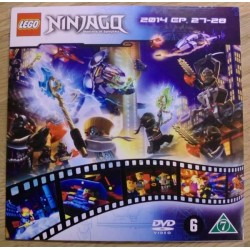 Ninjago: Masters of Spinjitzu: 2014 - Episoder 27-28 (DVD)