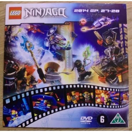Ninjago: Masters of Spinjitzu: 2014 - Episoder 27-28 (DVD)