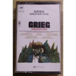 Edvard Grieg: Greatest Hits (kassett)