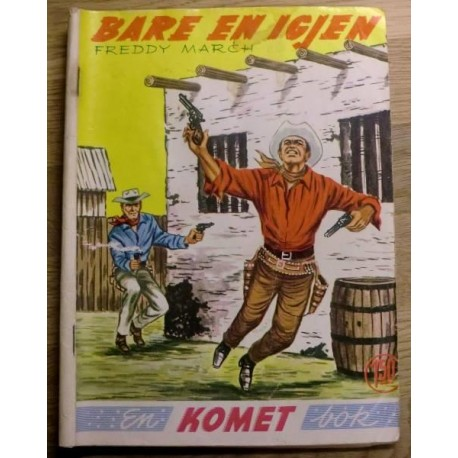 Komet-bok Nr. 191 - Freddy March: Bare en igjen