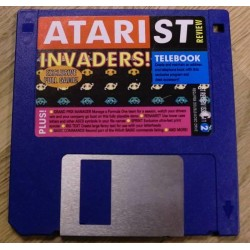Atari ST Review Cover Disk Nr. 11: Invaders