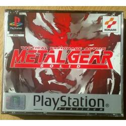 Metal Gear Solid - Tactical Espionage Action (Konami)